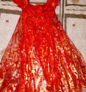 Платье детское , органза