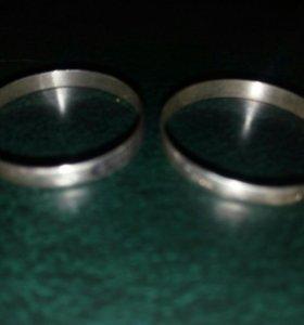 Кольцо серебряное 925 проба размеры 22,23