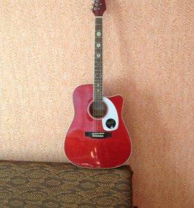Электро-акустическая новая гитара