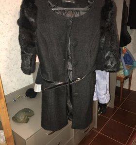 Пальто с кроликом