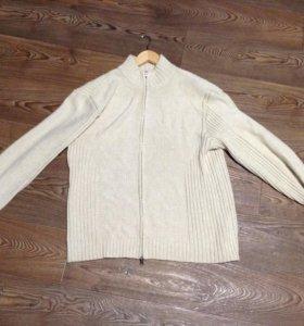 Мужской свитер, трикотаж