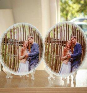 Сувенирные тарелки на свадьбу