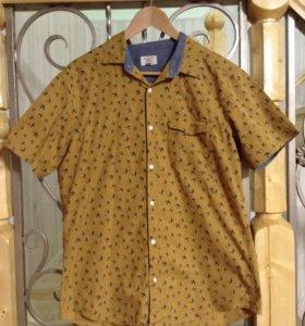 Рубашка с ласточками
