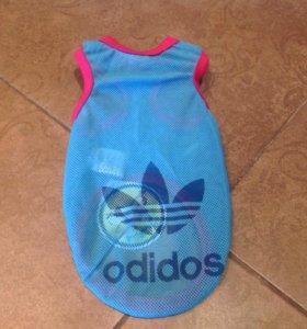 """Купальный костюм для собачки """"Adidas"""""""