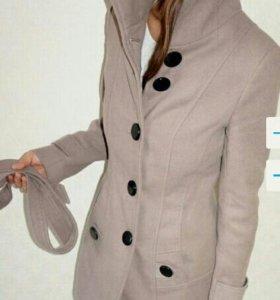 Пальто демисезонное xs