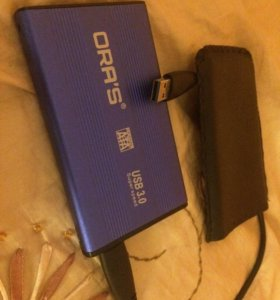 Внешний жёсткий диск WD HDD 360gb USB 3.0