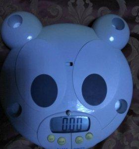 Весы детские электронные с ростомером