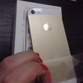 Продам apple iPhone 5s gold 16 Gb