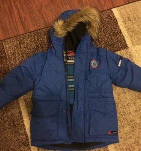 Куртка зимняя Next, для мальчика, рост 116
