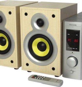 Аудио колонки Microlab PRO 1 с внешним усилителем