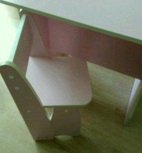 Столик+стульчик детские