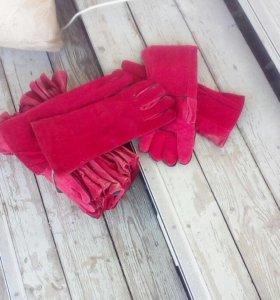 перчатки - краги для сваршика