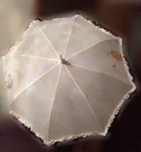 Свадебный зонт прокат