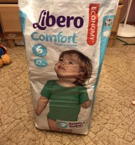 Подгузники Libero Comfort 6 12-22 кг