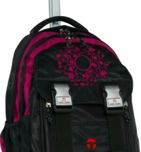 Рюкзак на колесах с телескопической ручкой б/у