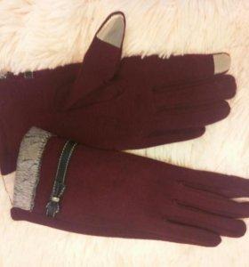 Перчатки с вставкой для сенсорных экранов