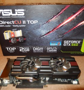 Asus NVidia GeForce GTX660-DC2O-2GD5