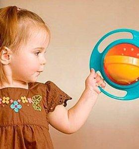 Тарелка-непроливайка для детей