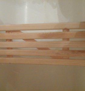 Полочка на ванную из дерева