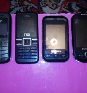 Нерабочие телефоны на разбор