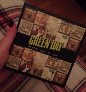 "Green Day ""The studio albums 1990-2009"""