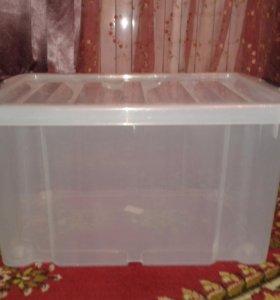 Ящик пластиковый для хранения 60л