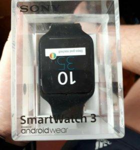 Смартчасы sony SmartWatch 3