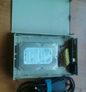 Бокс с HDD (IDE) 320 Gb