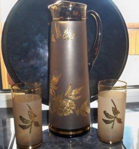 Набор для напитков из Богемии