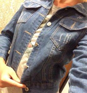 Куртка джинсовая женская новая