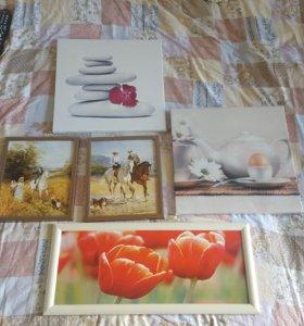Картины картинки для интерьера