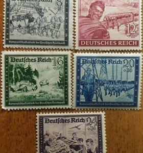 3й рейх, Германия, марки чистые