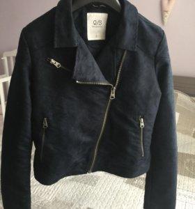 Новая куртка косуха S.Oliver под замшу, р-р 42-44
