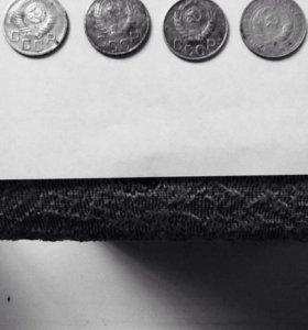 Монеты 1932г,1943г,1946г,1952г.