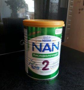 НАН 2 кисломолочная смесь