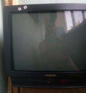 Телевизор Hitachi.