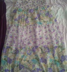 Юбка и платье летнее