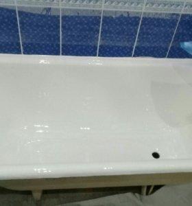 Реставрация чугунной ванны.Новогодняя скидка 10%