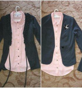 Блузка, юбка, платье, пиджак