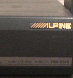 ALPINE BMW CD чейнджер