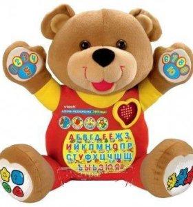 Мягкая игрушка Обучающий медвежонок Эльфи б. у