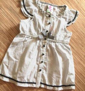 Детская блуза, рубашка