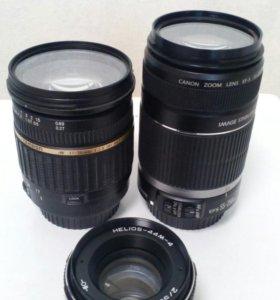 Объективы для фотоаппарата Canon