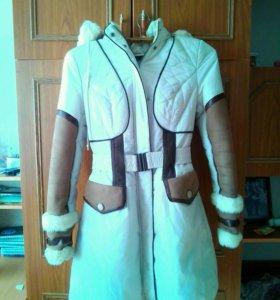 Зимняя куртка 44 рзмер