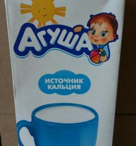 Молоко Агуша 2.5% 1л