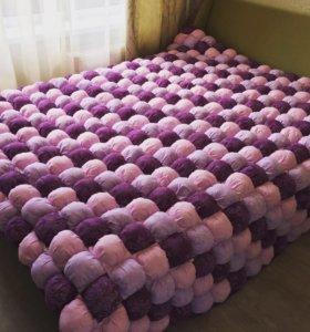 Одеяло бомбон,бортики в кроватку.