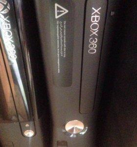 Xbox 360 Slim, геймпад, диски с доставкой на дом