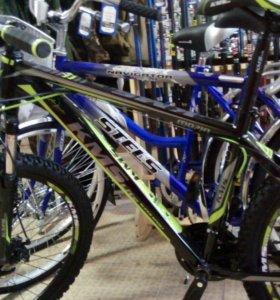 Продается новый спортивный велосипед KMS.