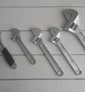 Продам разводные ключи, 6 шт., 150, 200, 300 мм