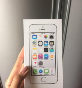 iPhone 5s, Silver, 16GB (обмен)